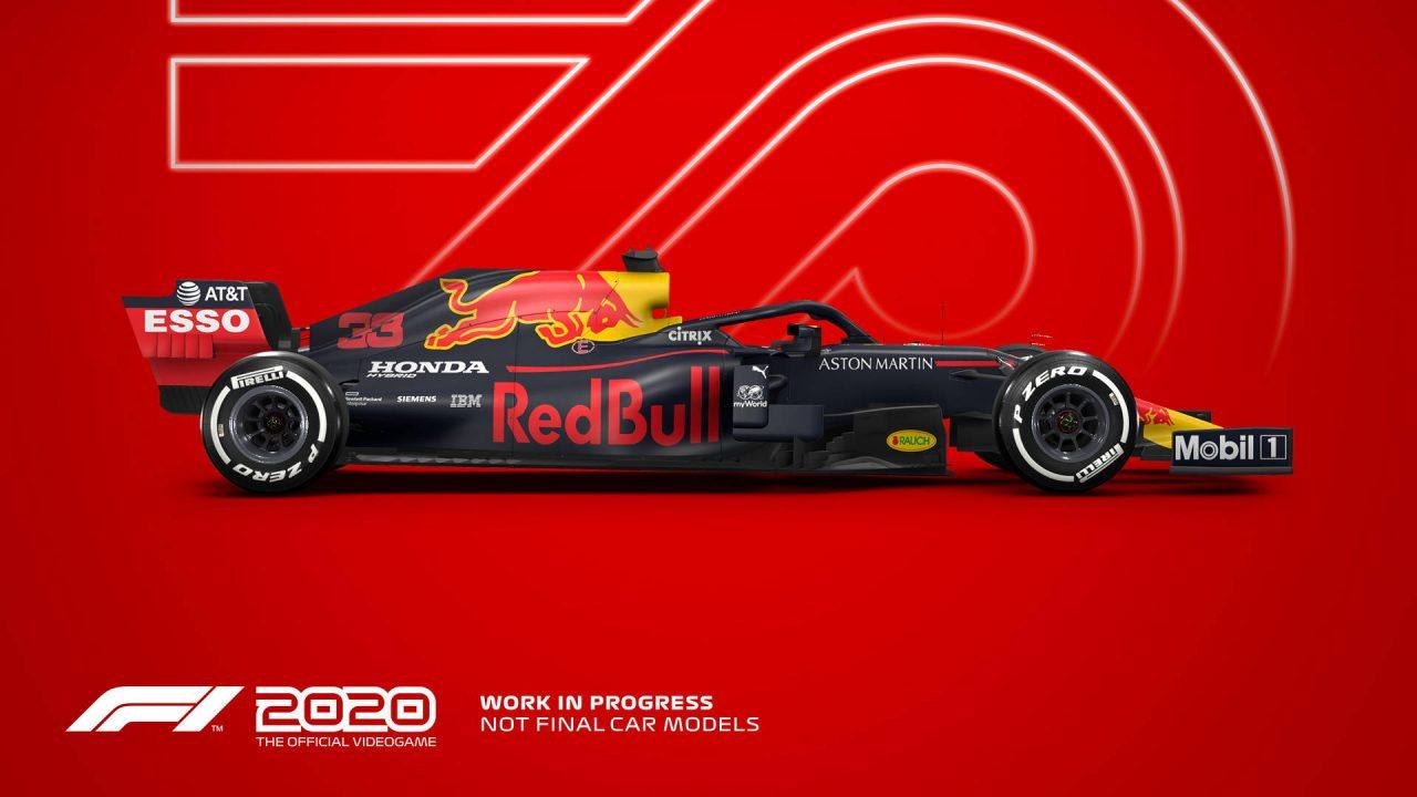 F1 2020, premières informations, images et vidéo