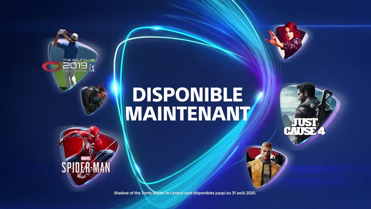 PlayStation Now – Les nouveaux jeux d'avril 2020
