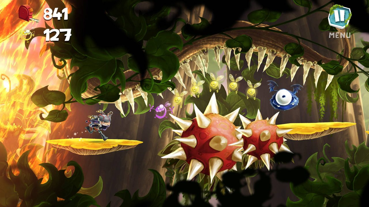 La saison 2 de Rayman Mini disponible sur Apple Arcade