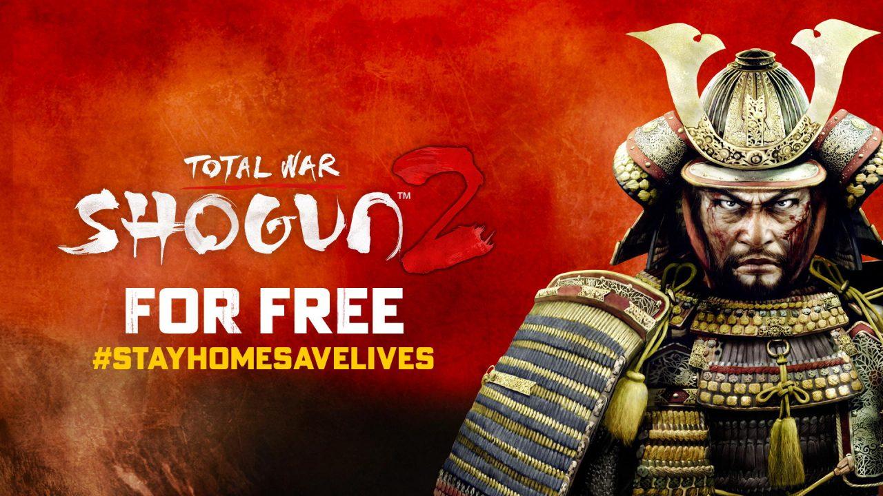 Total War Shogun 2 à télécharger gratuitement la semaine prochaine