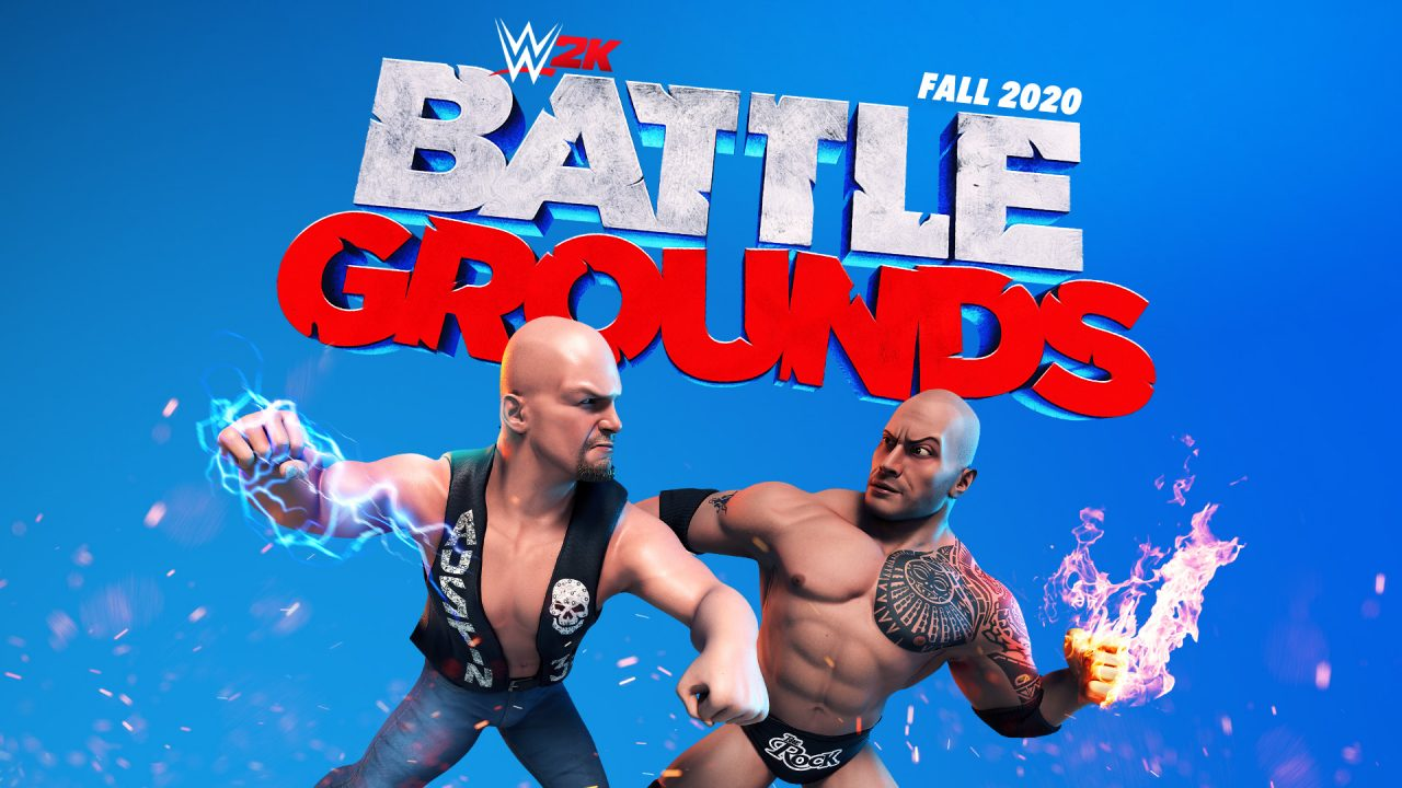 2K annonce WWE 2K Battlegrounds