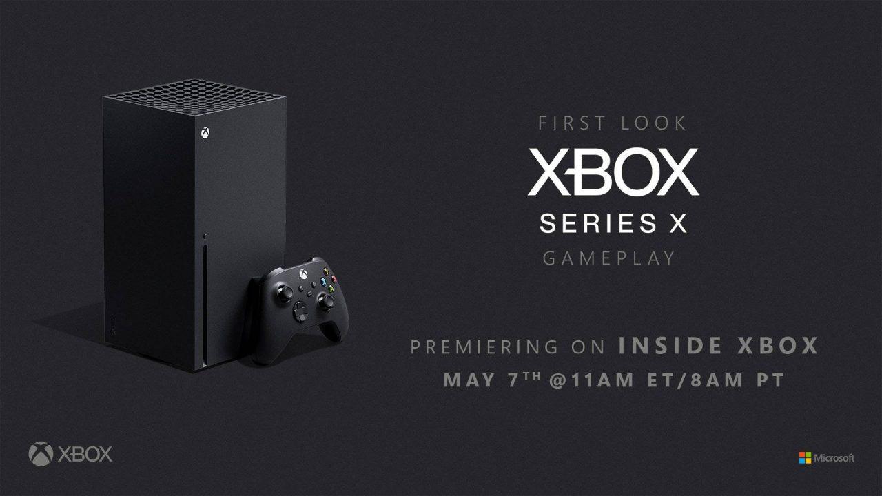 Microsoft prévoit un livestream sur la Xbox Series X la semaine prochaine