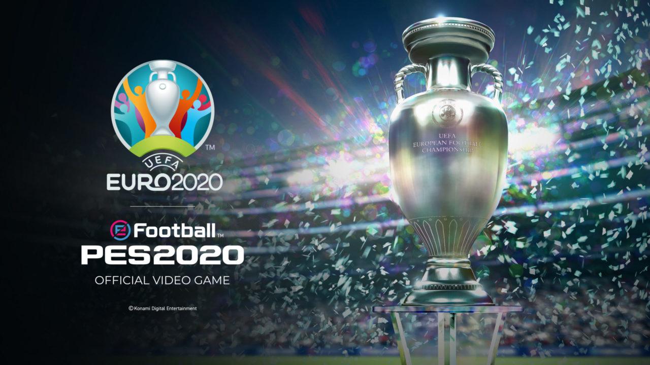 La mise à jour UEFA Euro 2020 pour eFootball PES 2020 le 4 juin