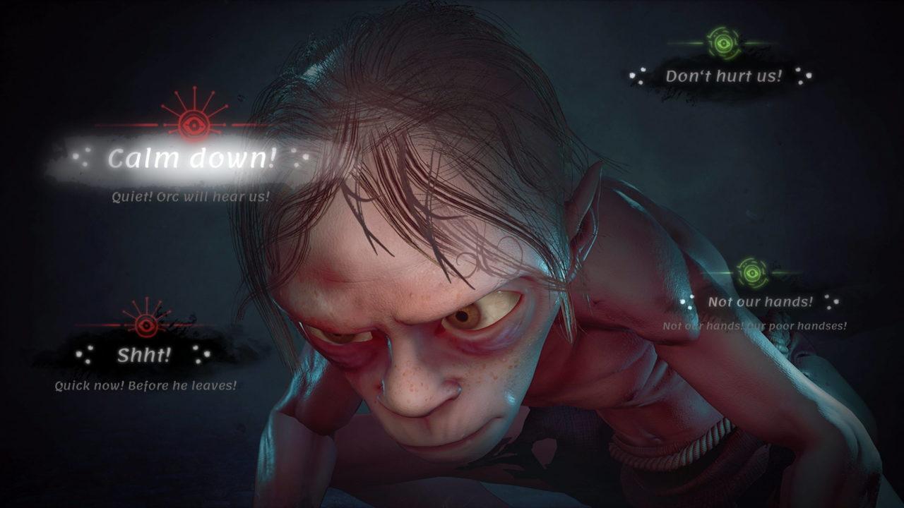 Premières images du Seigneur des Anneaux Gollum prévu sur PS5, Xbox Series X et PC