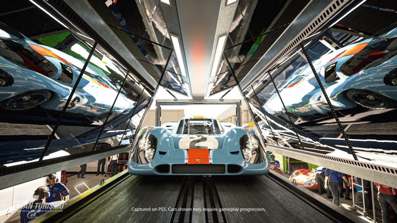 Gran Turismo 7 en route pour la PS5