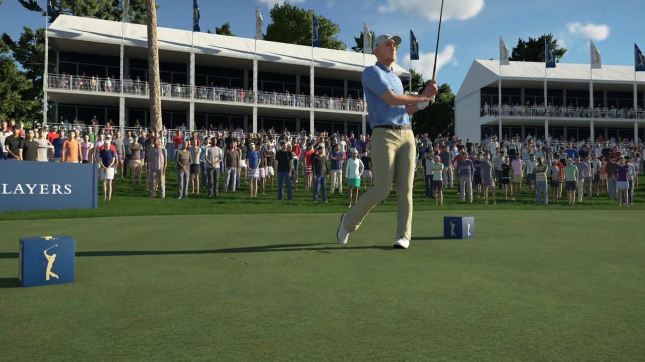 Le mode carrière aux côtés de pros et du gameplay pour PGA Tour 2K21
