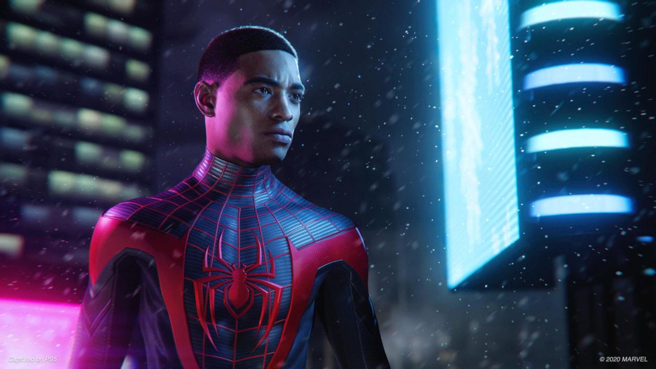 Spider-Man Miles Morales sur PS5 est un jeu indépendant pas une extension