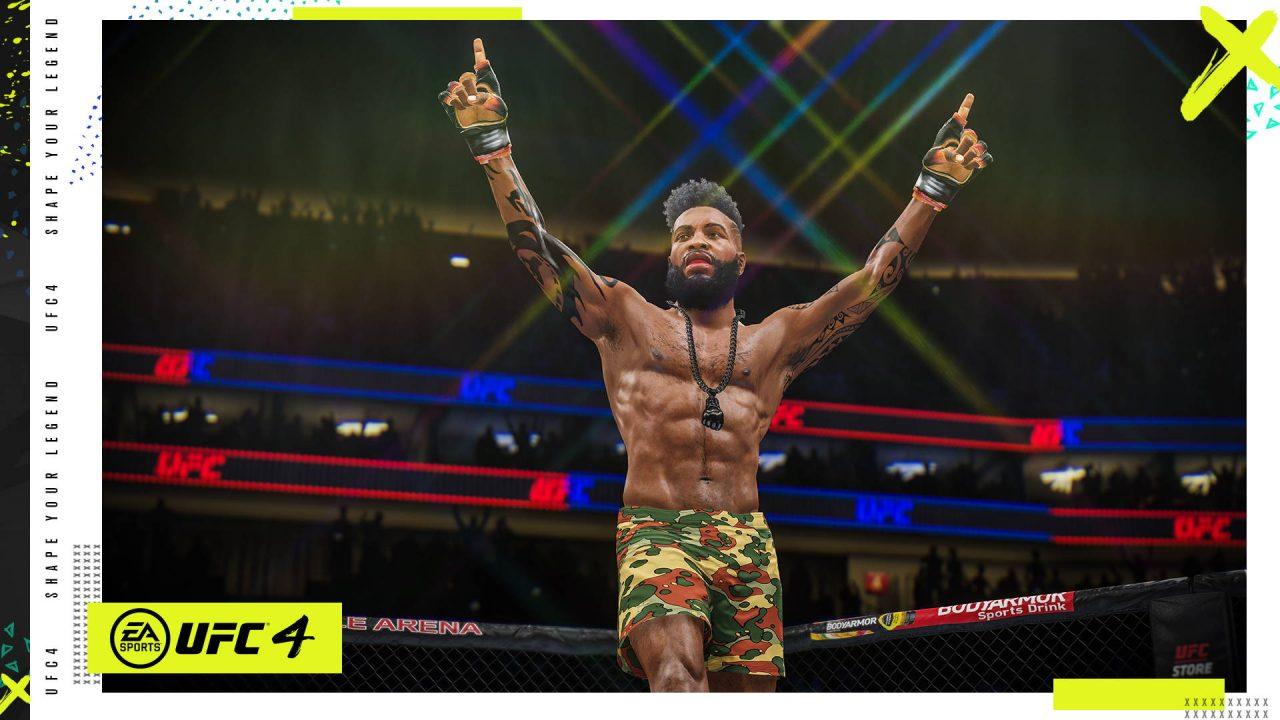 Un premier trailer de gameplay et de nouvelles images d'EA Sports UFC 4