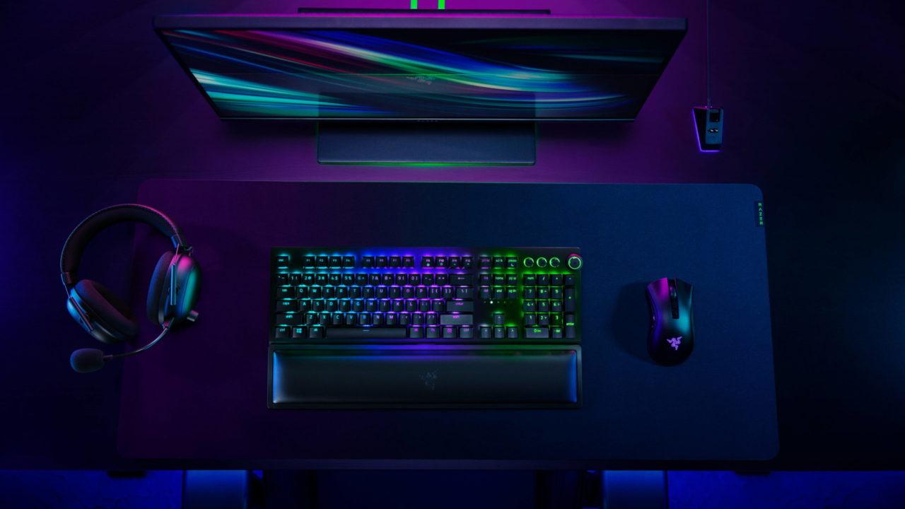 Razer lance sa gamme d'accessoires sans fil pour les gamers sur PC