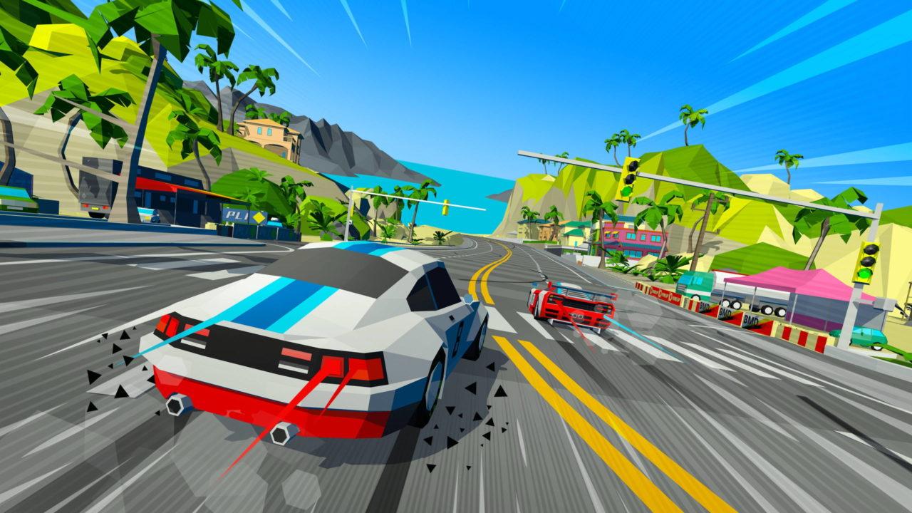 Découvrez du gameplay du bien fun Hotshot Racing