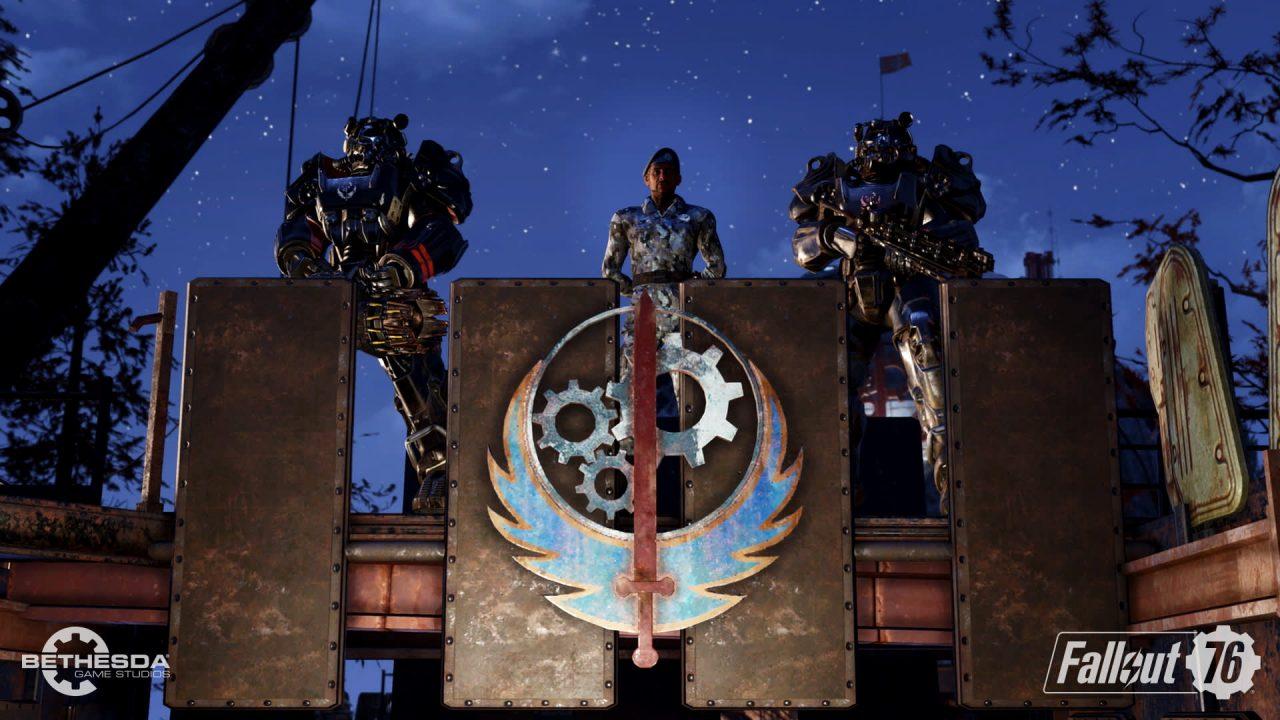 La mise à jour Aube d'Acier de Fallout 76 se montre en vidéo
