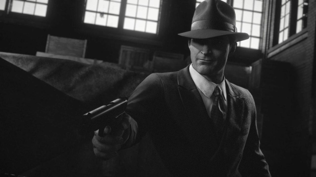 Jouez à Mafia Definitive Edition en noir et blanc
