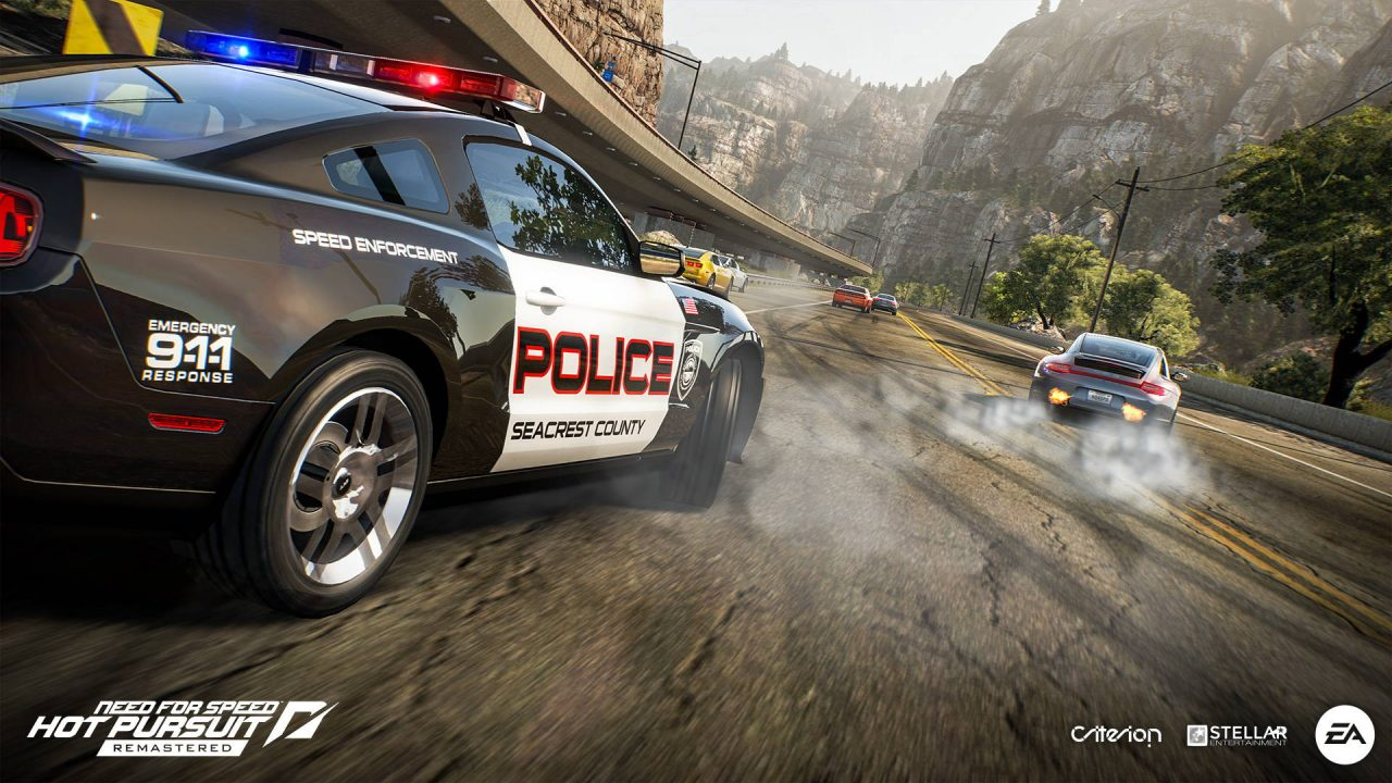 Need For Speed Hot Pursuit Remastered dévoile sa nouvelle carrosserie
