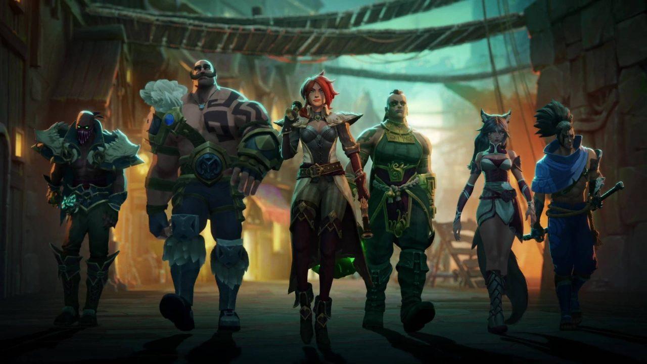Riot Forge annonce Ruined King pour début 2021 sur toutes les plateformes