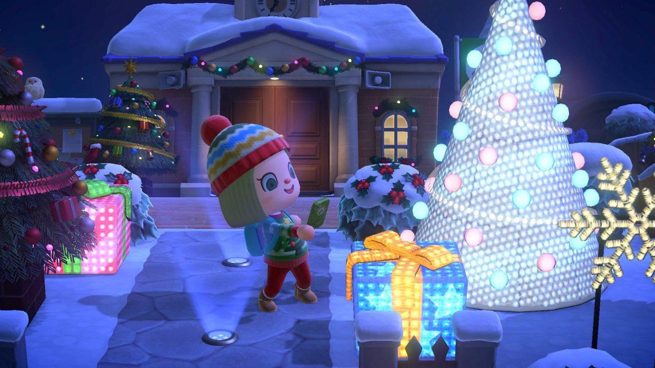 Animal Crossing New Horizons va passer à l'heure des fêtes de Noël