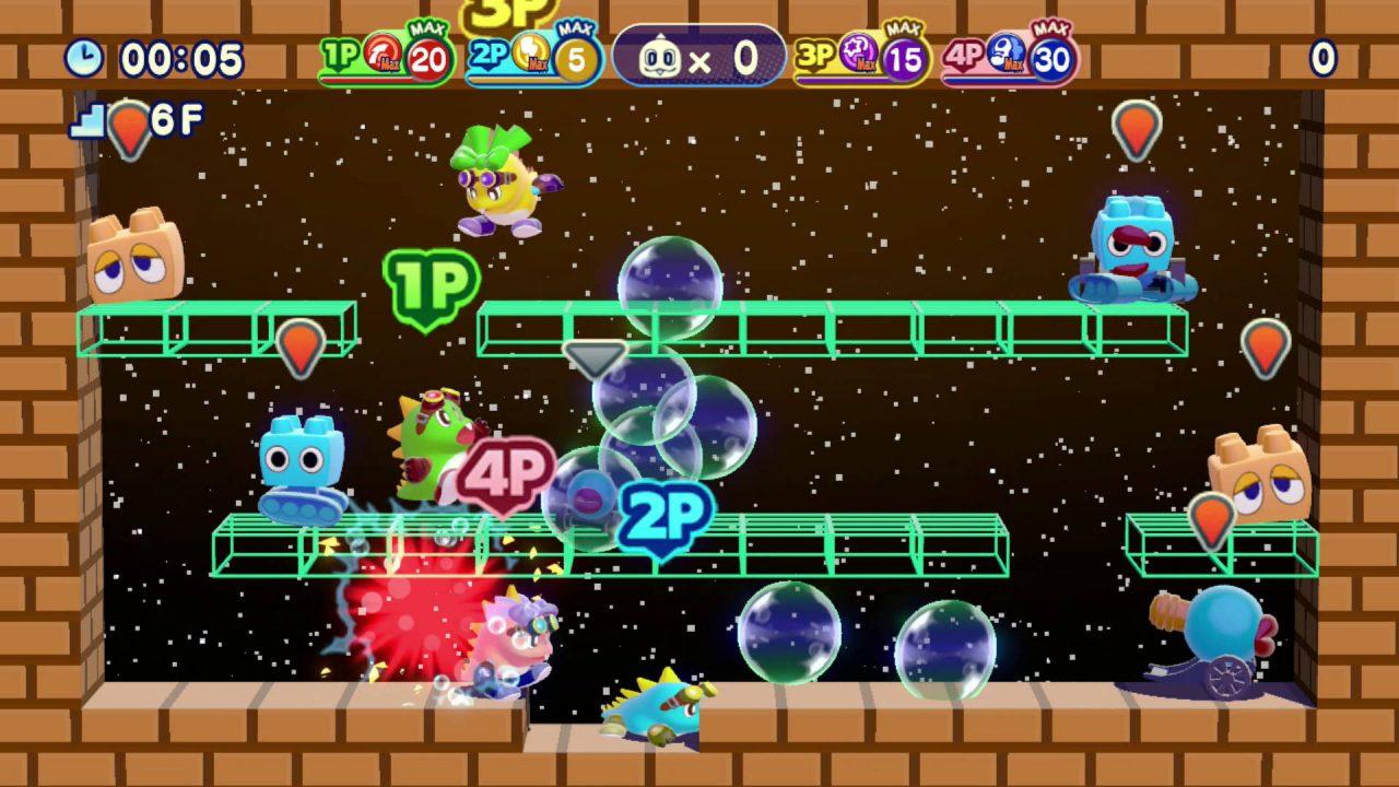 Bubble Bobble 4 Friends The Baron is Back prochainement sur PS4 et Switch