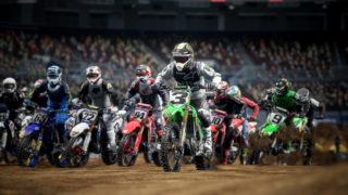 Milestone prépare son nouveau jeu de motocross, Monster Energy Supercross 4