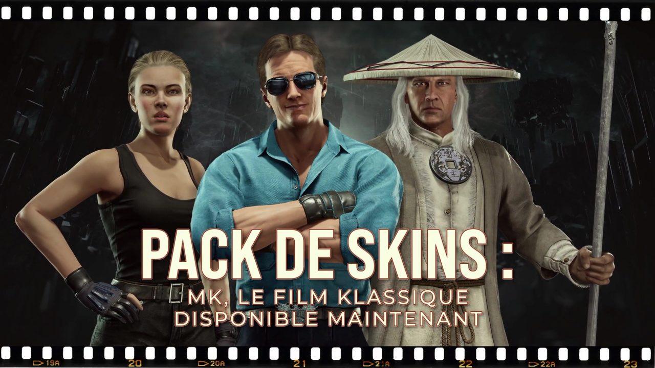 Mortal Kombat 11 – Un pack de skins pour les fans du film de 1995