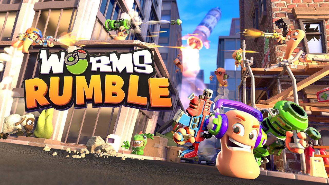 Un petit deathmatch en 4K HDR sur Worms Rumble?