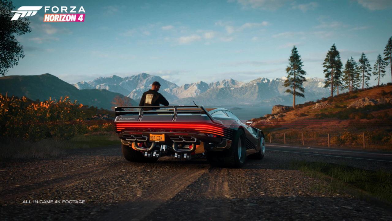 Le bolide de Cyberpunk 2077 rejoint le garage de Forza Horizon 4