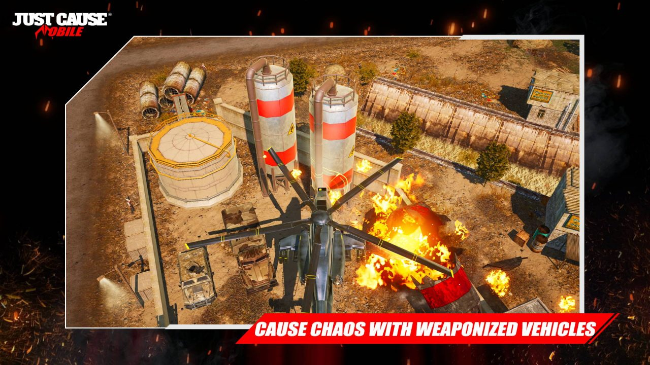Square Enix annonce Just Cause Mobile