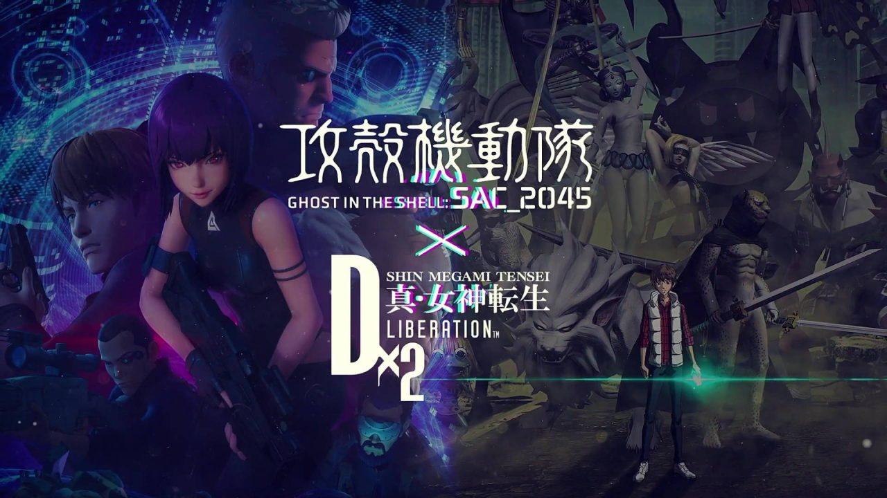 Une petite collaboration entre Shin Megami Tensei et Ghost in the Shell sur mobiles