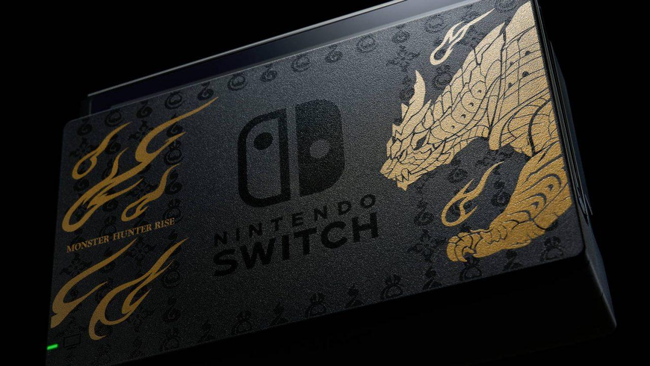 Nintendo prévoit une édition Monster Hunter Rise de sa Switch