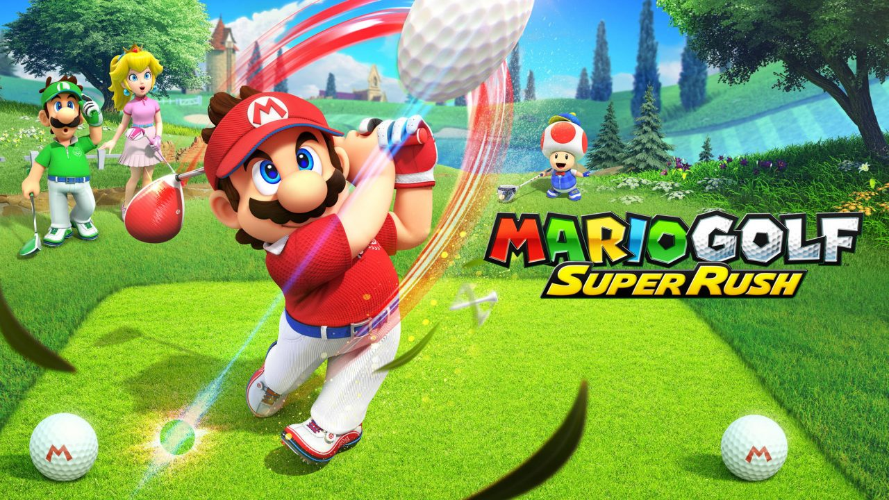 Mario reprend ses clubs dans Mario Golf Super Rush sur Switch