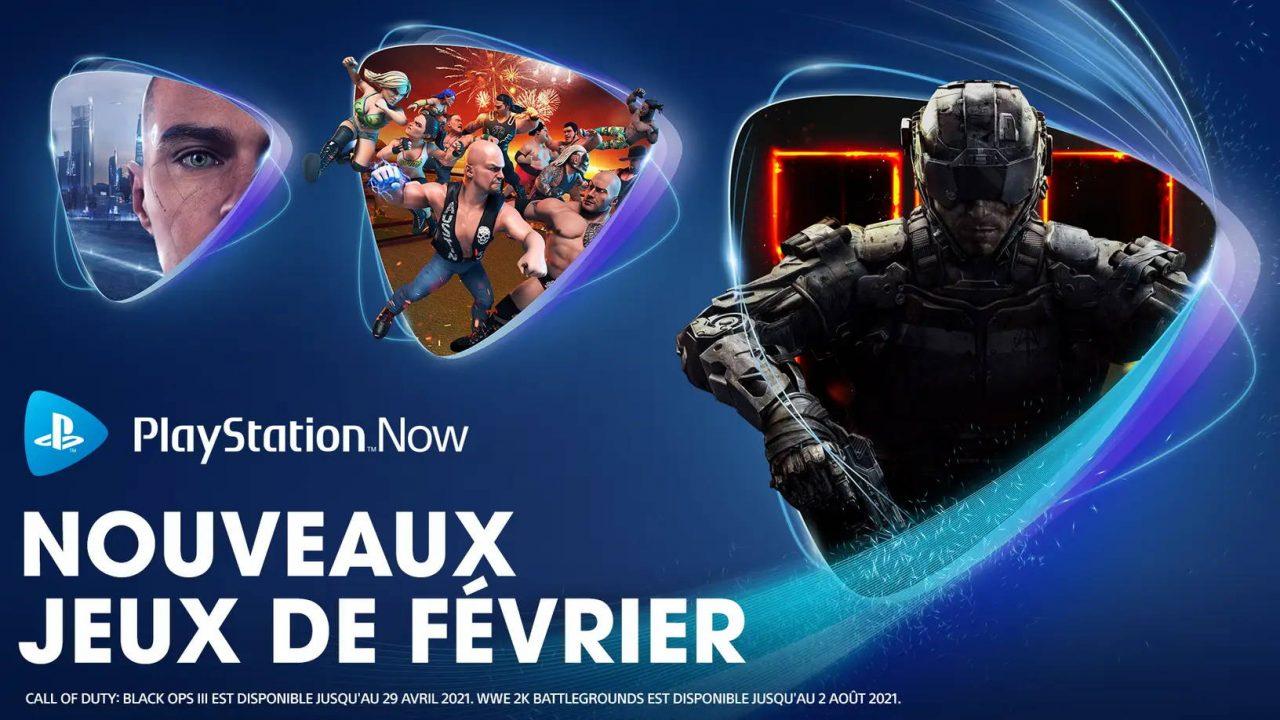 PlayStation Now – Les nouveaux arrivants de février 2021