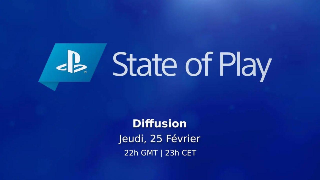 Suivez le nouveau livestream State of Play de Sony ce soir à 23h ici-même !