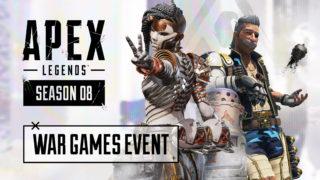 Le nouvel évènement Jeux de Guerre débarque sur Apex Legends