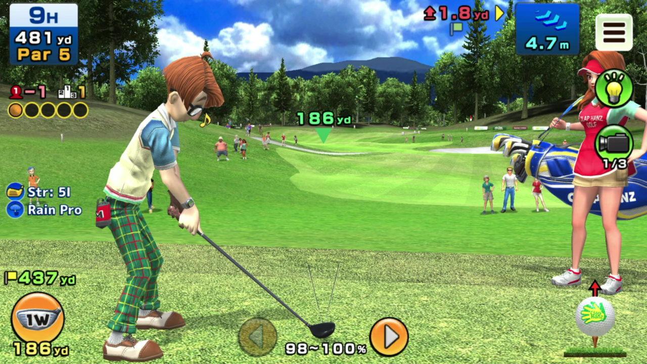 Découvrez une vidéo de gameplay de Clap Hanz Golf sur Apple Arcade