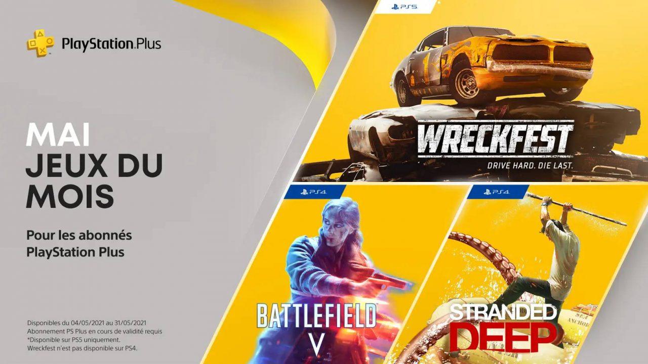 PlayStation Plus – Les jeux gratuits de mai 2021