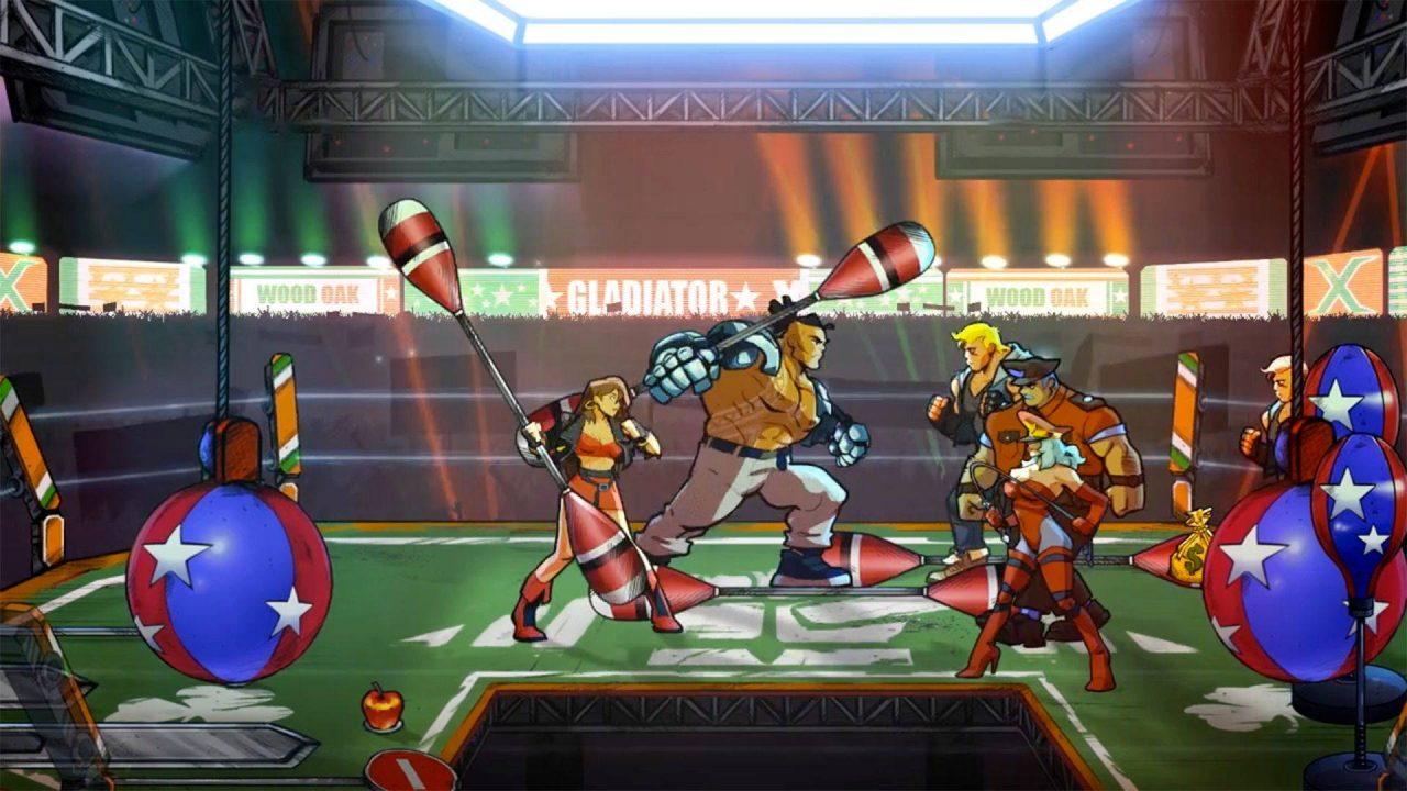 Un DLC et une mise à jour pour Streets of Rage 4