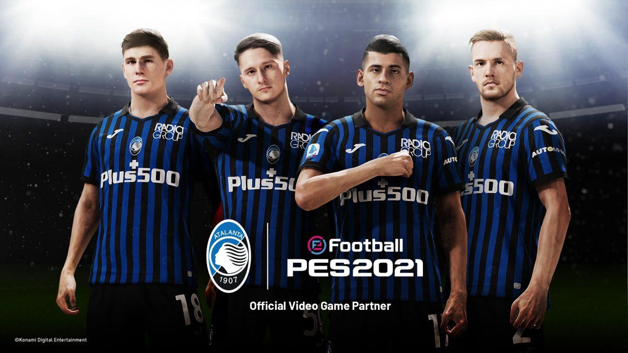 Konami signe avec le club italien Atalanta B.C pour eFootball PES