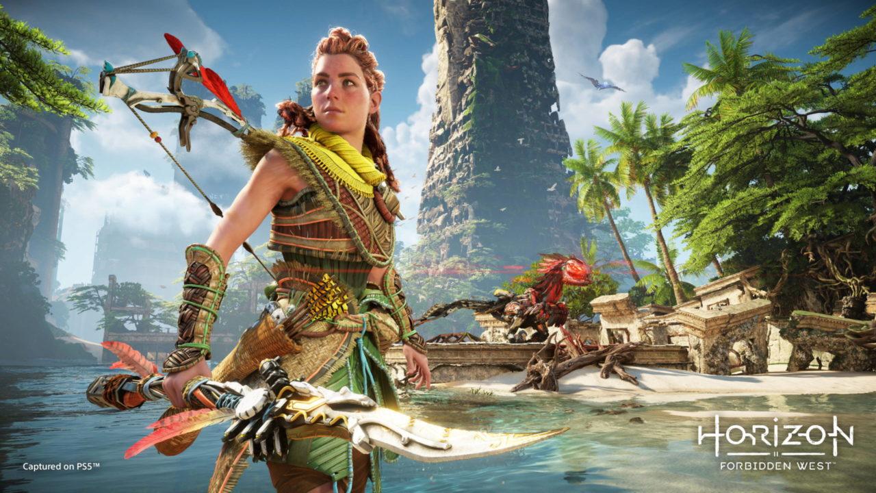 Découvrez la première vidéo de gameplay d'Horizon Forbidden West sur PS5