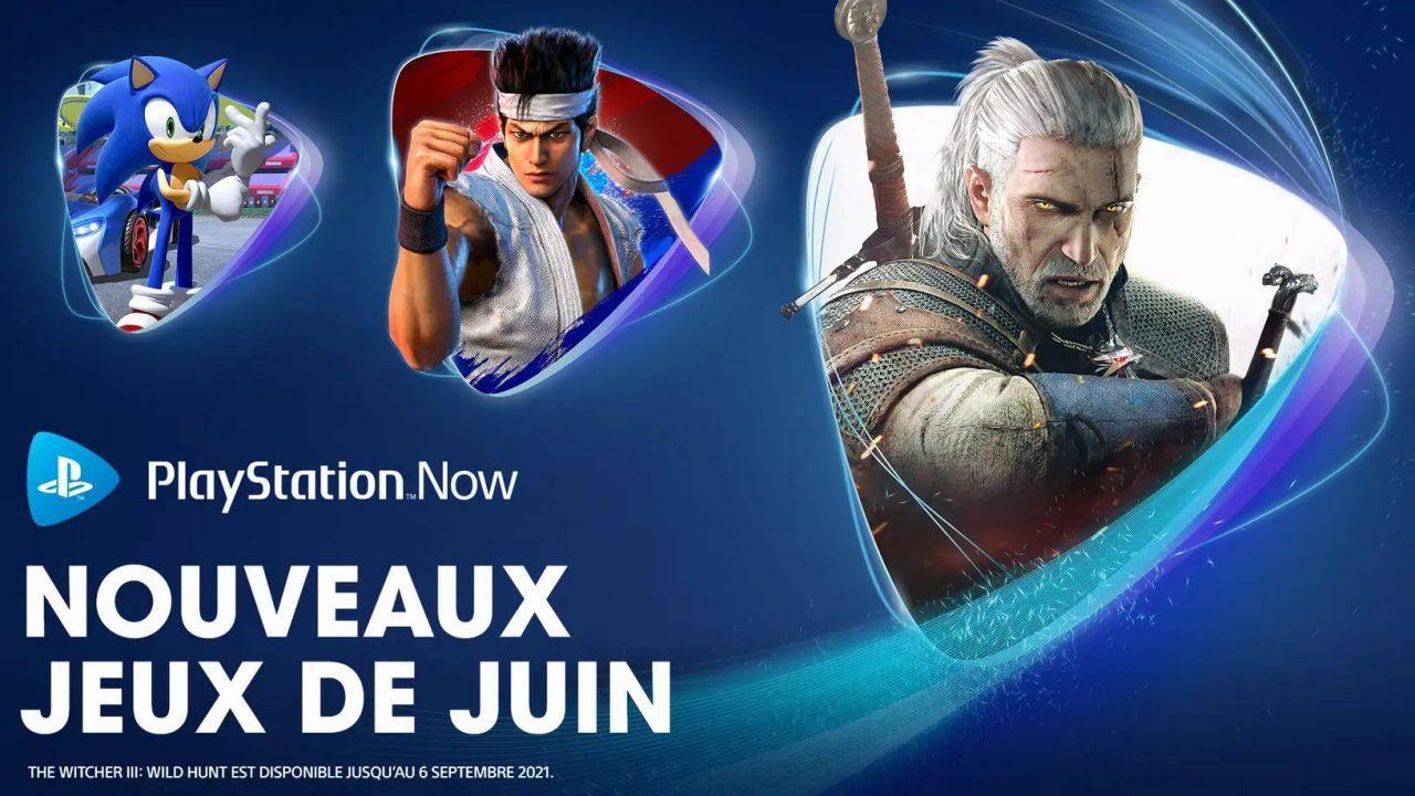 PlayStation Now – Les nouveaux arrivants de juin 2021