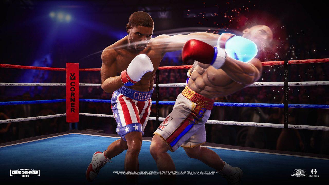Big Rumble Boxing Creed Champions, un jeu de boxe chez Koch Media