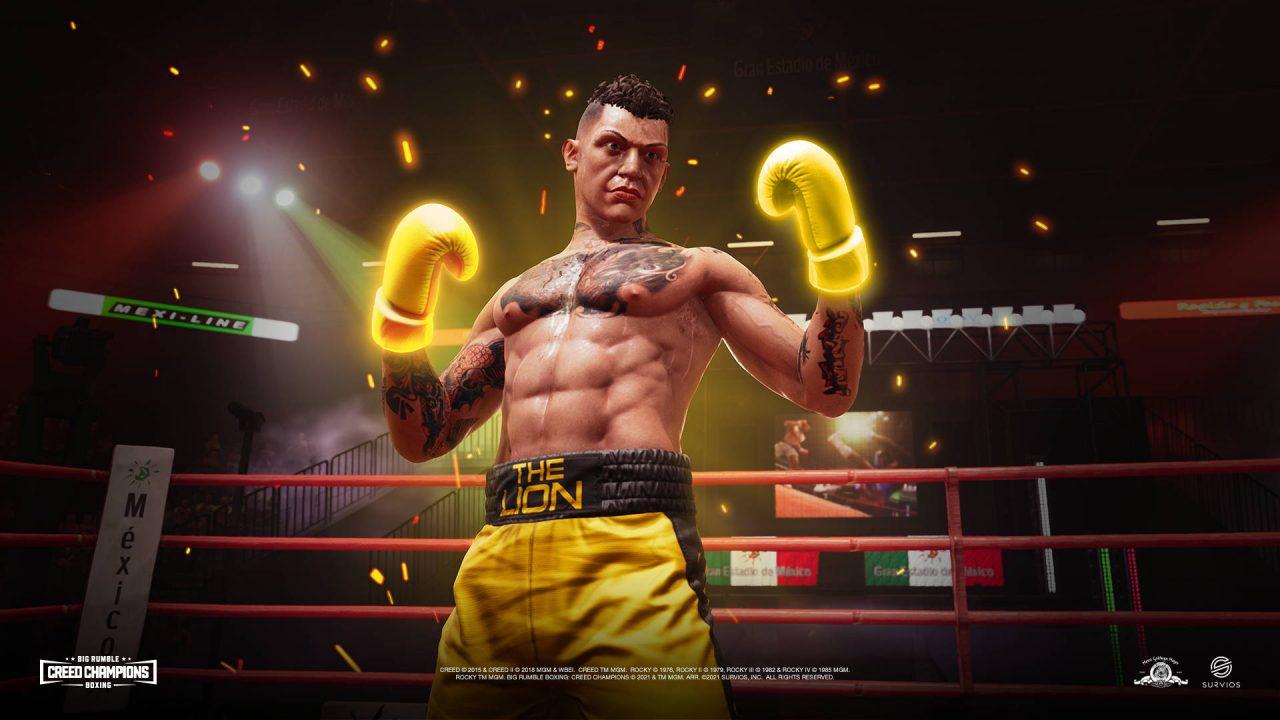 Enfilez vos gants pour Big Rumble Boxing Creed Champions à la rentrée