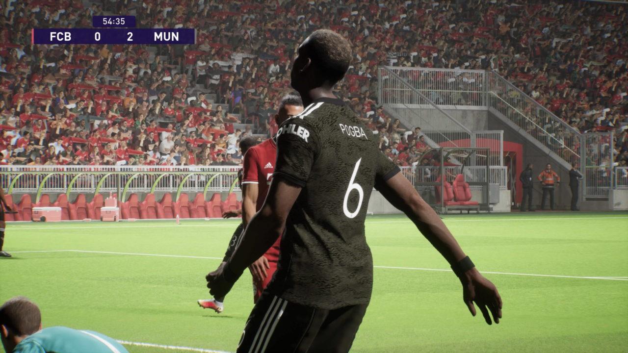 Découvrez deux matchs de la démo de PES 2022 sur PS5 jusqu'en 4K