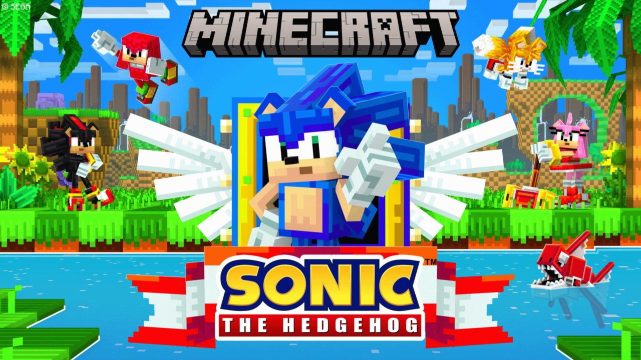 Sonic débarque sur Minecraft