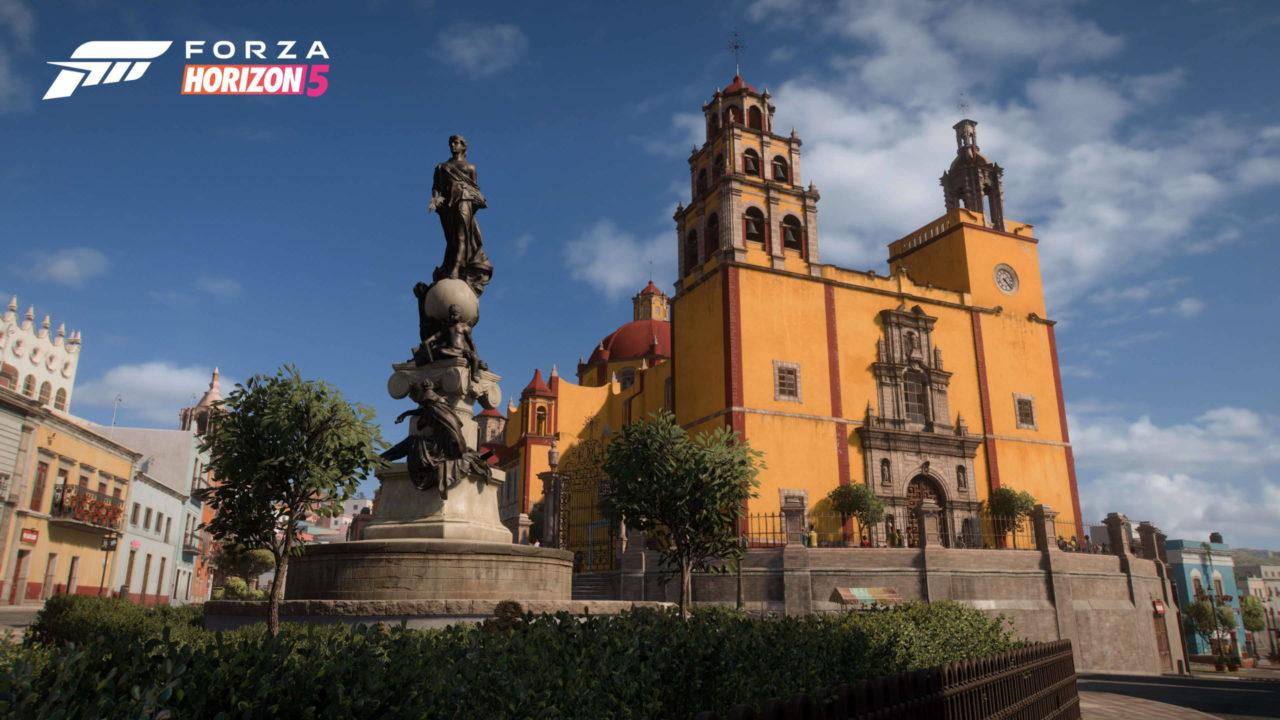 Microsoft montre les environnements de Forza Horizon 5