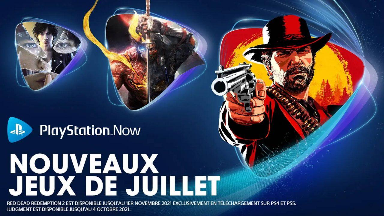 PlayStation Now – Les nouveaux arrivants de juillet 2021