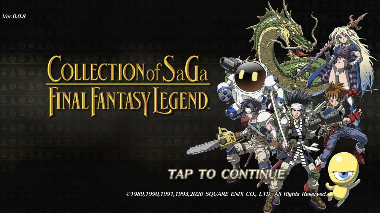 Square Enix annonce la compilation Collection of SaGa Final Fantasy Legend sur PC et mobiles