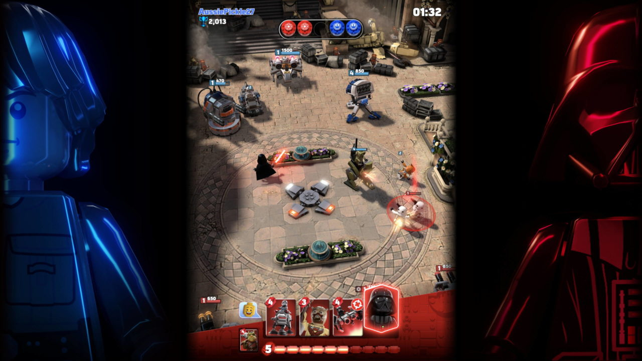 Lego Star Wars Battles débarque sur Apple Arcade
