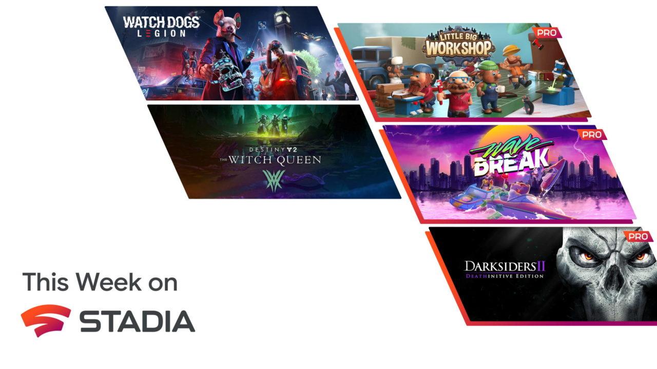 Stadia Pro – Les jeux gratuits de septembre 2021