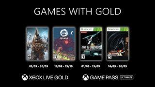 Xbox Games with Gold – Les jeux gratuits de septembre 2021