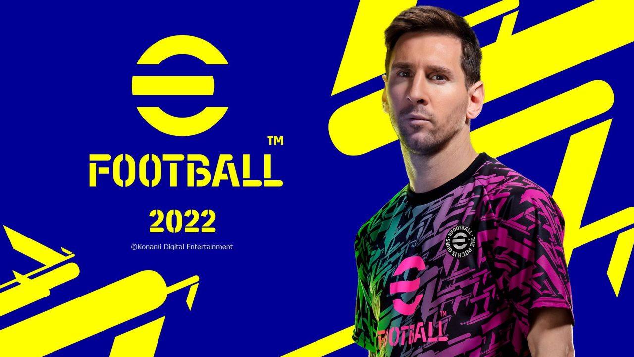 Konami annonce la sortie d'eFootball 2022 pour fin septembre