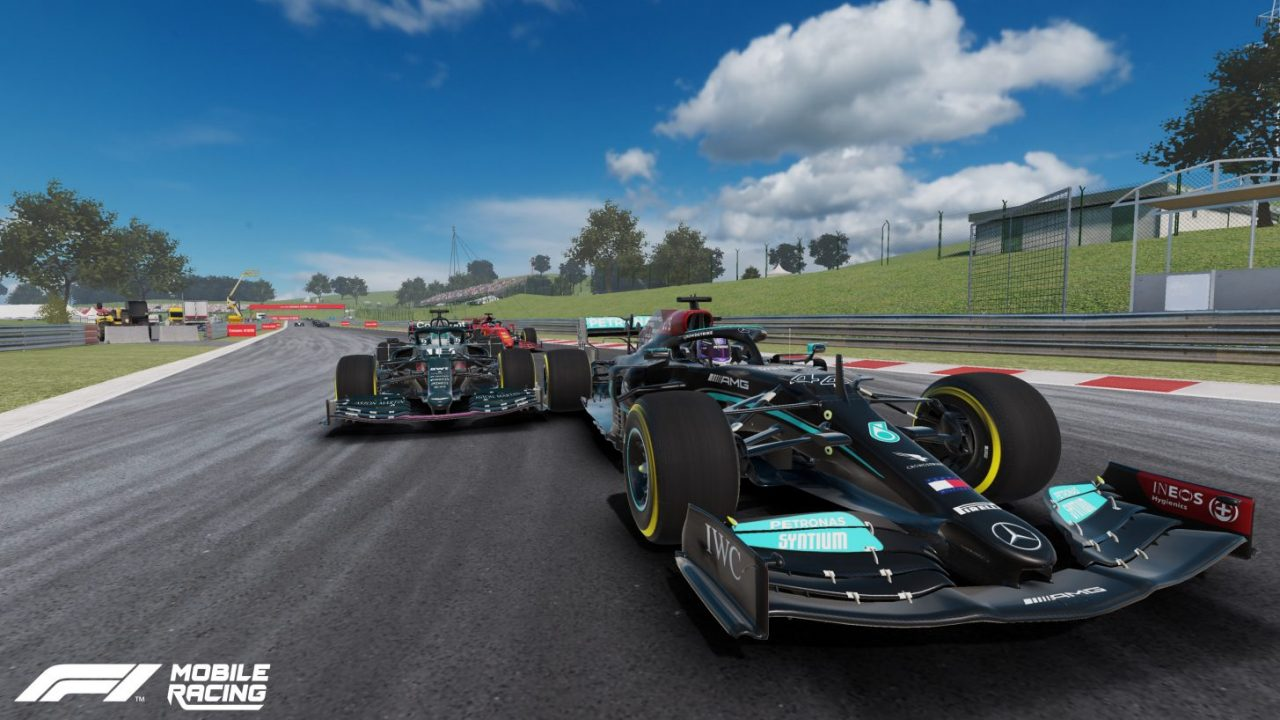 EA et Codemasters mettent à jour F1 Mobile Racing pour la saison 2021