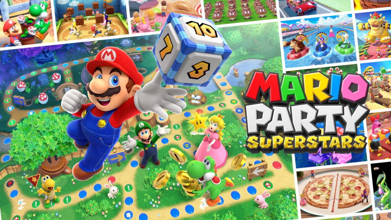 Mario Party Superstars arrive à la fin octobre sur Switch